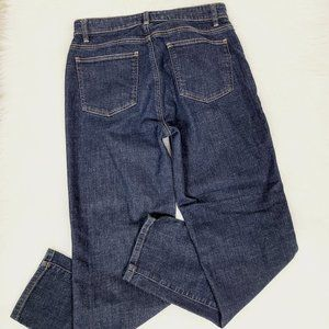 Eileen Fisher Organic Cotton Straight Jeans